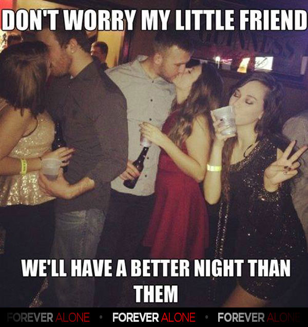 Funny Memes About Drinking Alone : Vodka sprite gt dudes forever alone