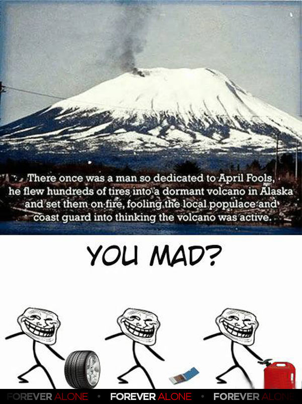 The Volcano Troll - Forever Alone : Forever Alone